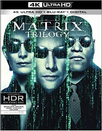 ultrahd 4k matrix trilogy, the (4k ultra hd) envío gratis
