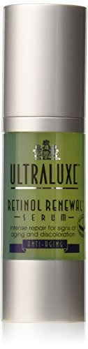 ultraluxe anti-ageing retinol renewal serum, 1 onza