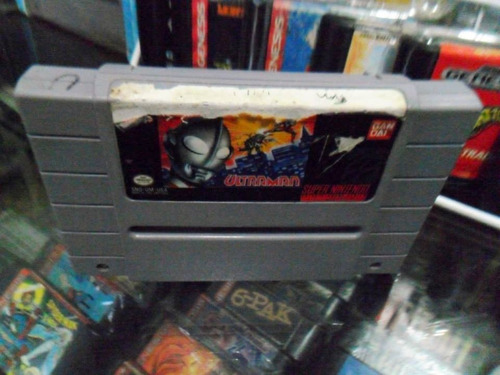ultraman super nintendo snes cartucho