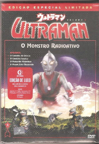ultraman vol. 3 - dvd lacrado