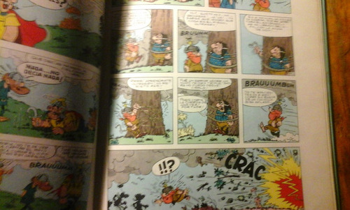 ultrasón !dame un susto, vikingo! cómics argos.1969. asterix