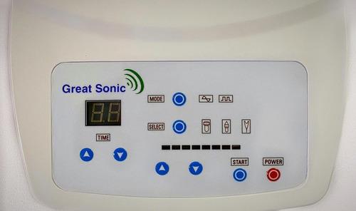 ultrasonido terapeutico 1 mhz y electrocauterio, 3 garantias