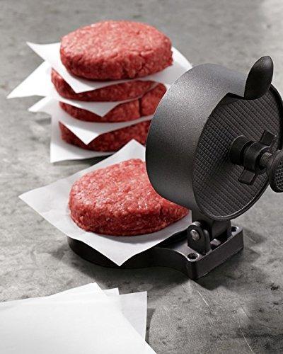 ultrasource hamburguesa patty papel, 5.5 \x 5.5\ (pack de 1