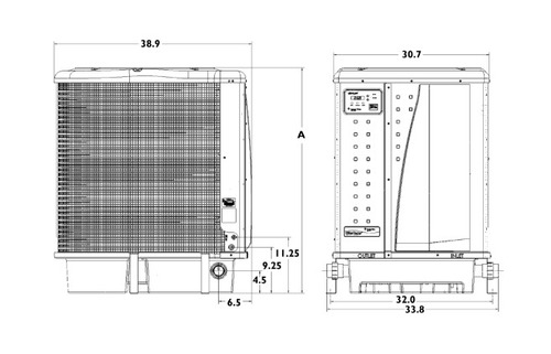 ultratemp bomba de calor de alto rendimiento 70,000 btu