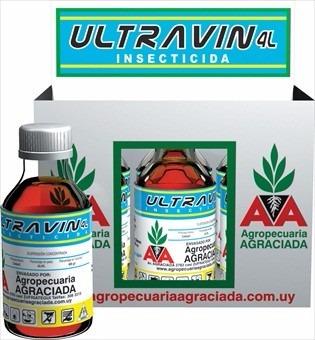 ultravin insecticida. frasco de 100 cc