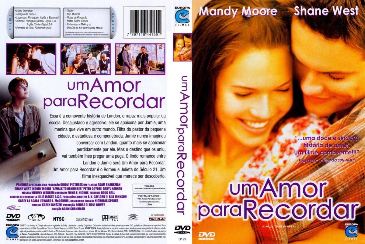 o filme um amor para se recordar dublado