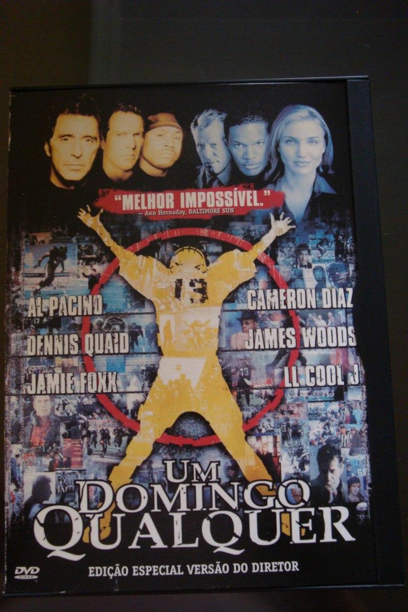 Um Domingo Qualquer Al Pacino E Cameron Diaz Em Dvd