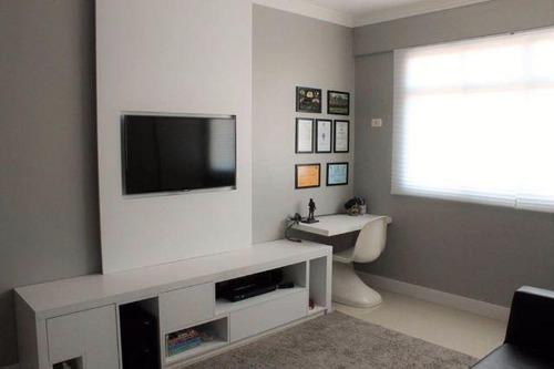 um dormitório = suite = lavabo = lazer = vaga de garagem - ap1056