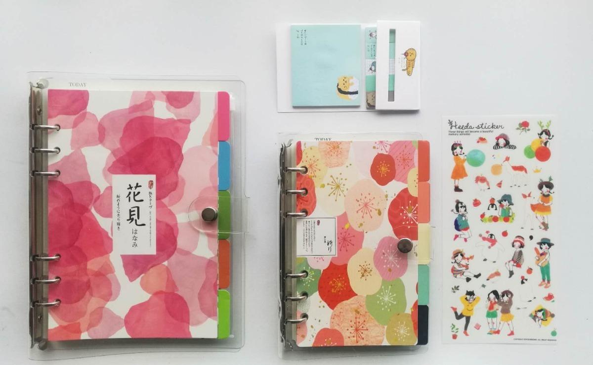 3e53f7d12 Um Kit(a&b&c) Planner/agenda/caderno Fichario-a5+a6-pvc - R$ 129,00 ...