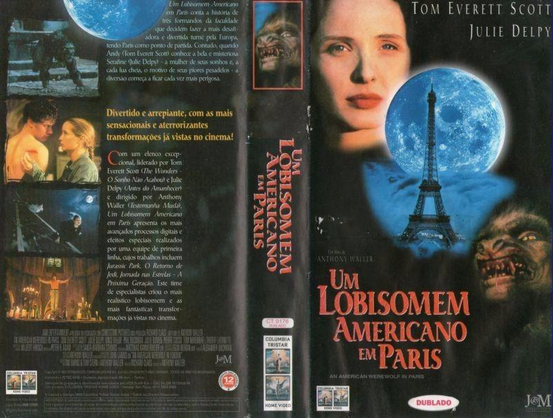 o filme um lobisomem americano em paris dublado