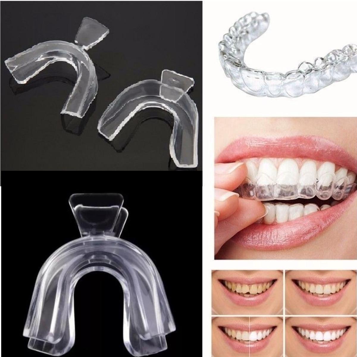 Um Par Moldeira Termomoldavel Para Clareamento Dentario R 14 90
