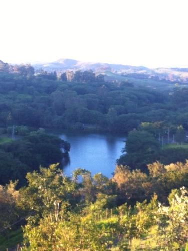 um paraíso em meio à natureza! lindo lote em condomínio residencial situado dentro de uma área de preservação ambiental a 2 km do centro de joaquim egidio. - te00600