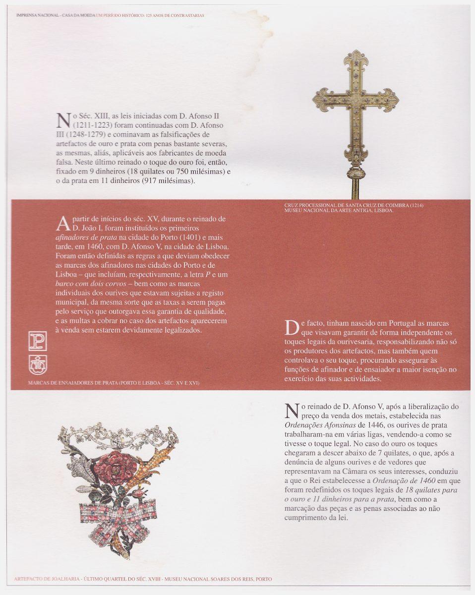 0806a9c999e Um Período Histórico  125 Anos De Contrastarias   Portugal - R  19 ...