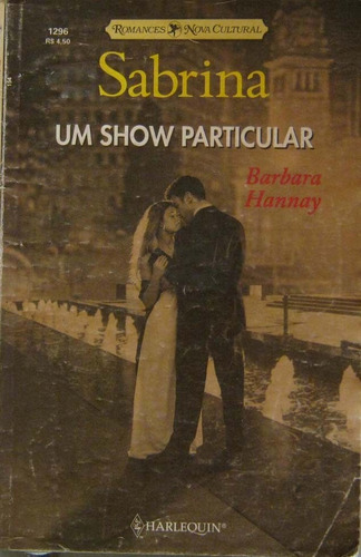 um show particular - barbara hannay - sabrina 1296