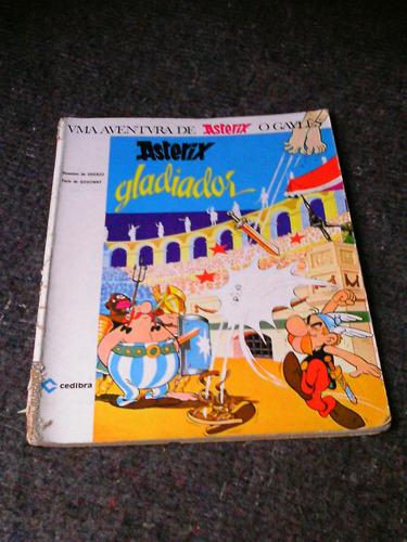 uma aventura de asterix: asterix gladiador- cedibra