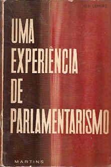 uma experiência de parlamentarismo - levi carneiro