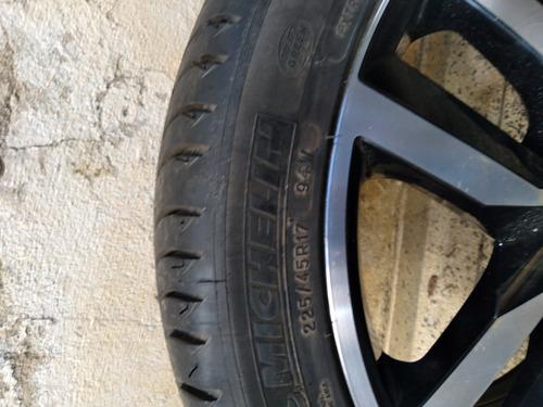 uma roda do golf com pneu novo 225/45/17 michelin $600
