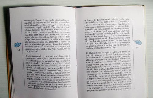 umberto eco cinco escritos morales libro importado 1998
