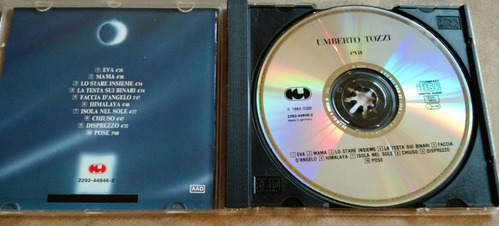 umberto tozzi eva cd digipack germany warner 1982