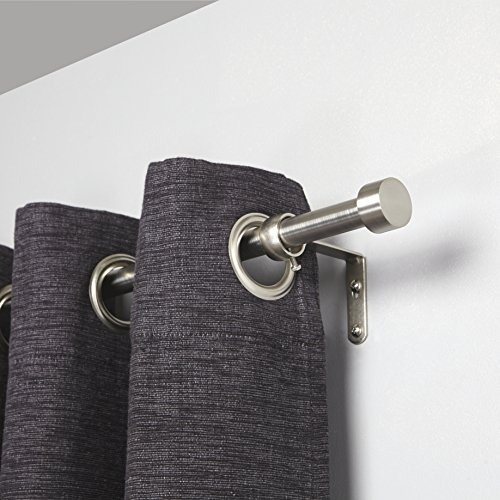 umbra cappa rodillo de cortina de níquel cepillado - modern