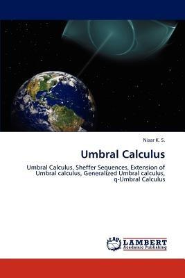 umbral calculus; k. s., nisar envío gratis