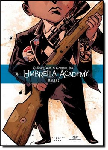 umbrela academy dallas capa dura de way gerard ba gabriel