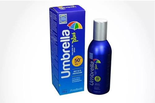 umbrella protector solar plus 50+ spray 120 gr
