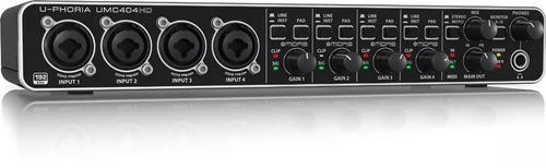 umc404hd interface de audio behringer u-phoria umc404 usb