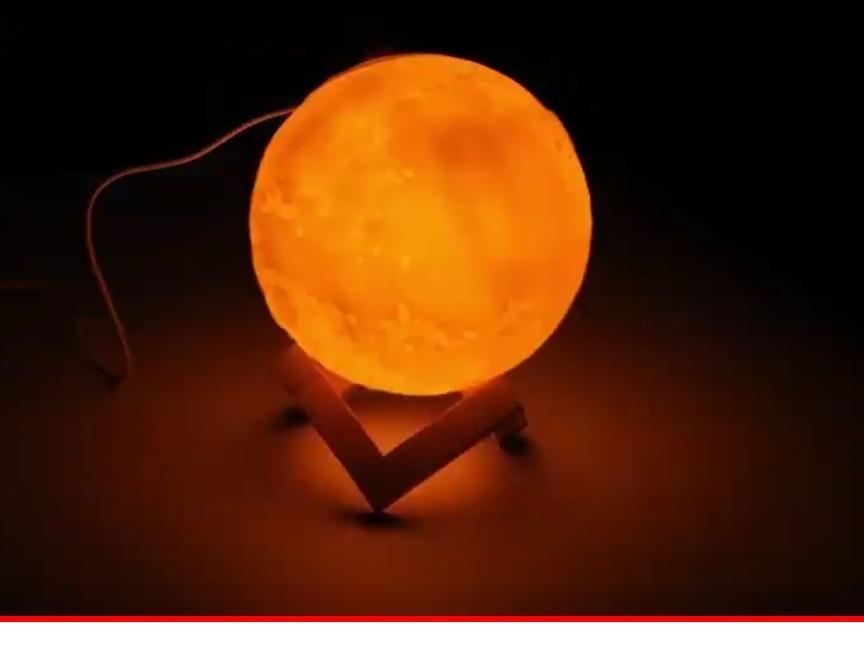 be444430e umidificador aromatizador purificador de ar lua led show. Carregando zoom.