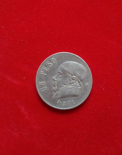 un 1 peso estados unidos mexicanos 1971