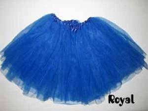 un 12  royal ballet azul básico tutu 3 capas de alta calidad