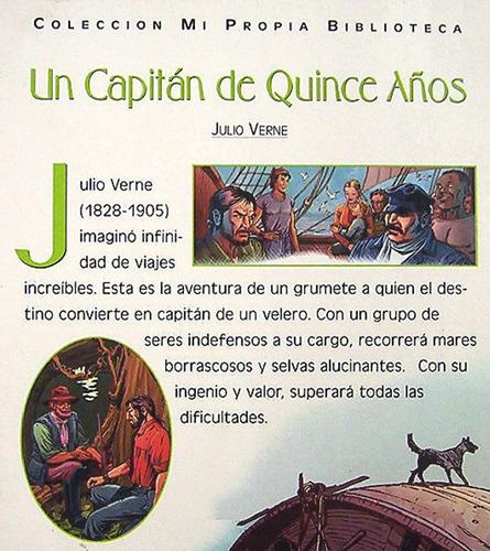 un capitán de quince años j verne novela adaptada para niños