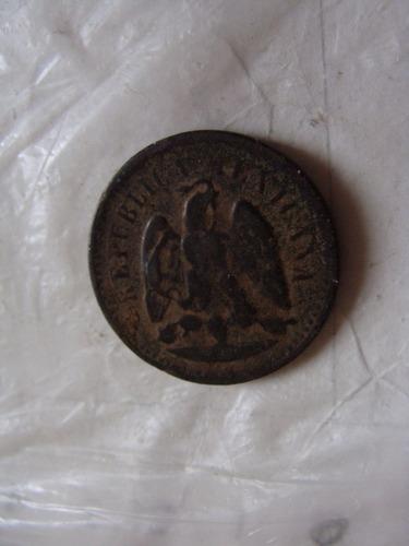 un centavo año 1891