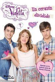 un corazon dividido violetta disney libro nuevo