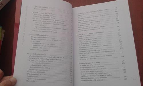 un curso de oratoria en 14 lecciones  novoa campos  -libros