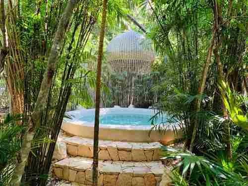 un  departamento un hogar en la selva para el descanso y la  inspiración ubicado en aldea zama