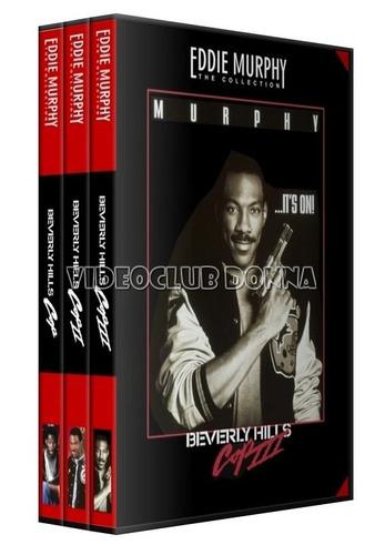 un detective suelto en hollywood pack saga completa 3 dvd