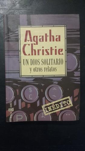 un dios solitario y otros relatos agatha christie