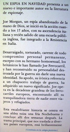 un espia en navidad john howlett editorial pomaire argentina