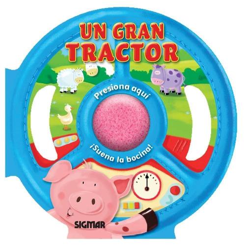 un gran tractor