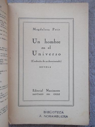 un hombre en el universo magadalena petit 1951 primera ed.