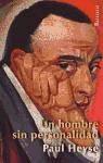 un hombre sin personalidad(libro literatura alemana)