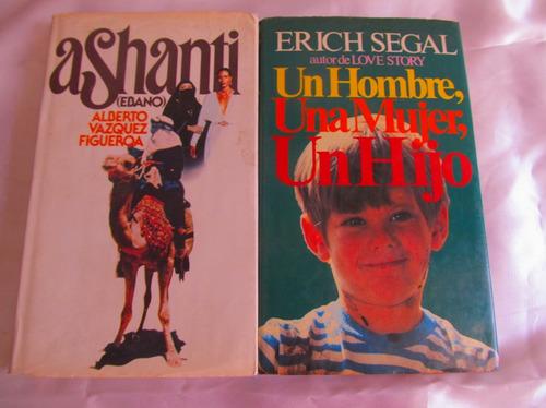 un hombre, una mujer, un hijo + ashanti  (dos 2 al precio 1)