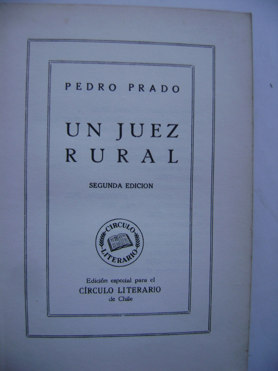 Resultado de imagen de Pedro Prado 1949