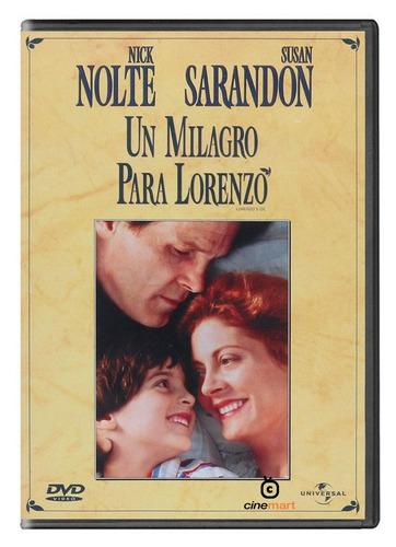 un milagro para lorenzo pelicula dvd