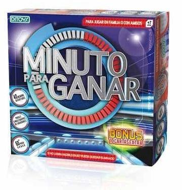 Un Minuto Para Ganar Juego De Mesa De Ditoys 560 00 En Mercado Libre