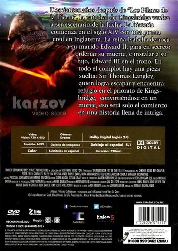 un mundo sin fin world without end serie completa dvd
