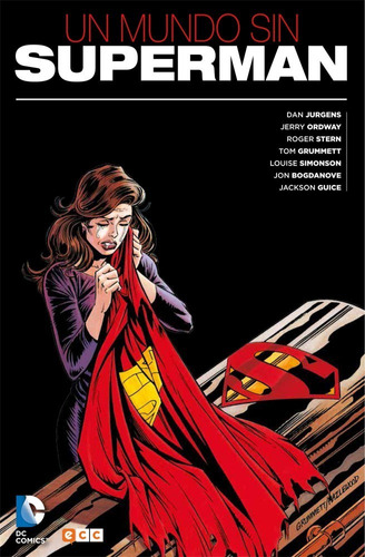 un mundo sin superman - dc ecc comics - robot negro