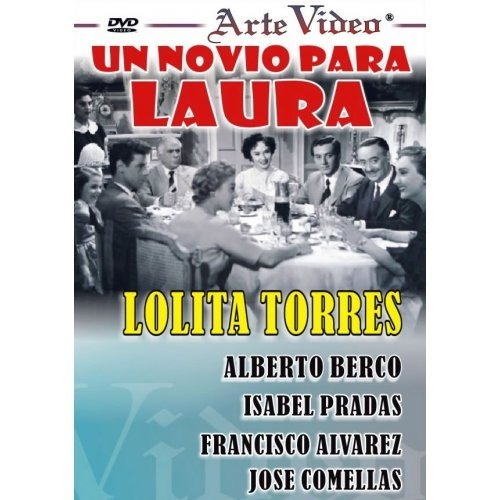 un novio para laura - lolita torres- a. berco - dvd original
