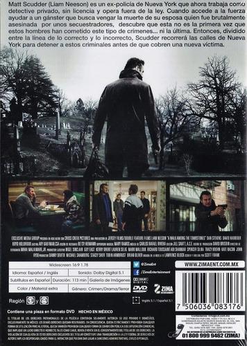 un paseo por las tumbas liam neeson pelicula en dvd